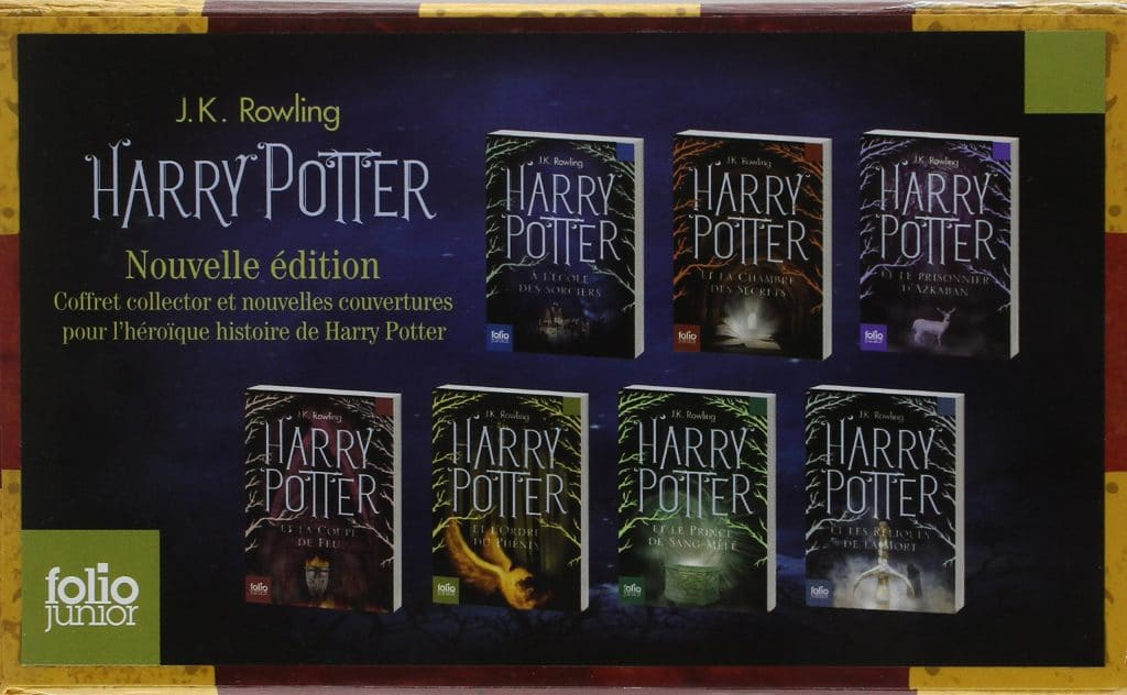 La Saga Harry Potter En Livre
