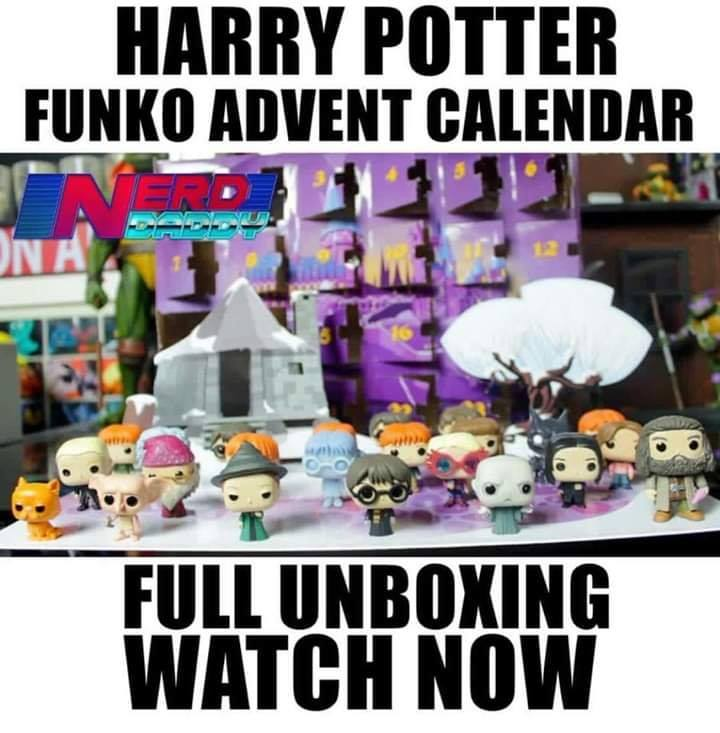 Calendrier De Lavent Harry Potter Funko Pop.Un Calendrier De L Avent Funko Pop Harry Potter
