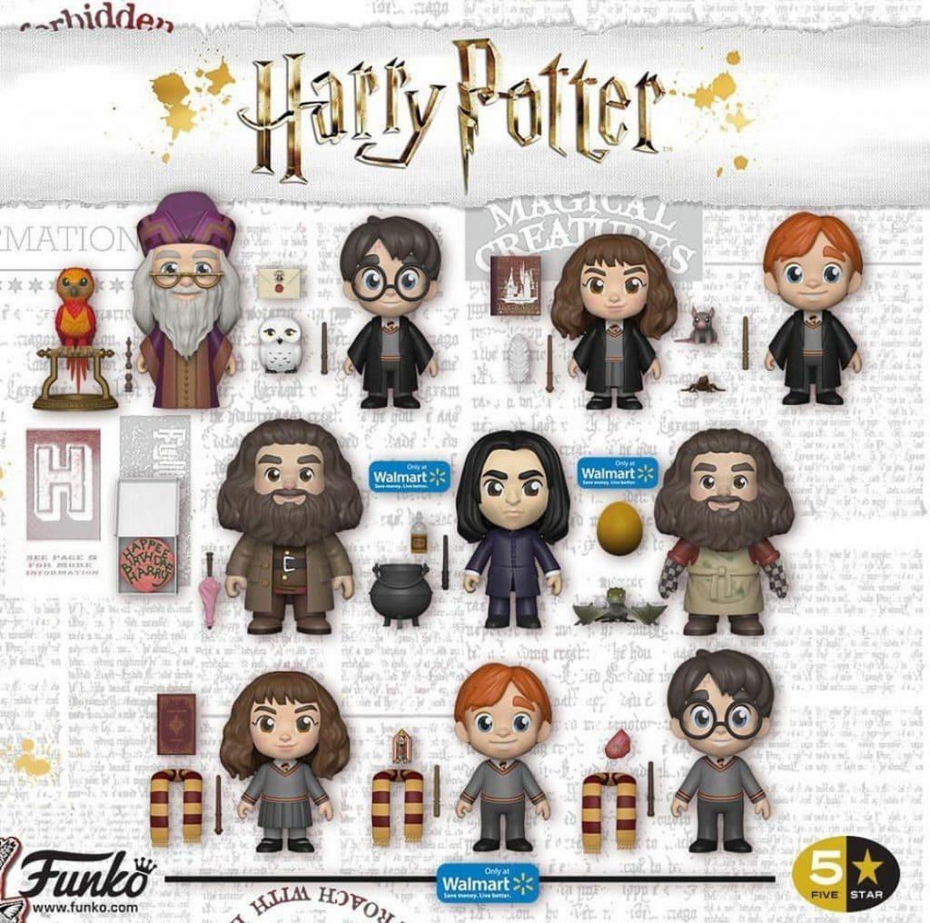 rat Croutard Harry Potter mini figurine Ron Weasley et sa baguette magique