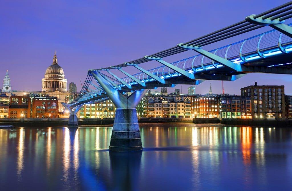 Le Millenium Bridge